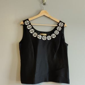 2/$25 Embroidered Dressy Tank Top